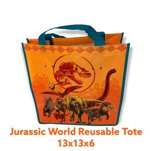 😁 4 / $20 NEW WITH TAGS Jurassic World Reusable Tote - TYN11